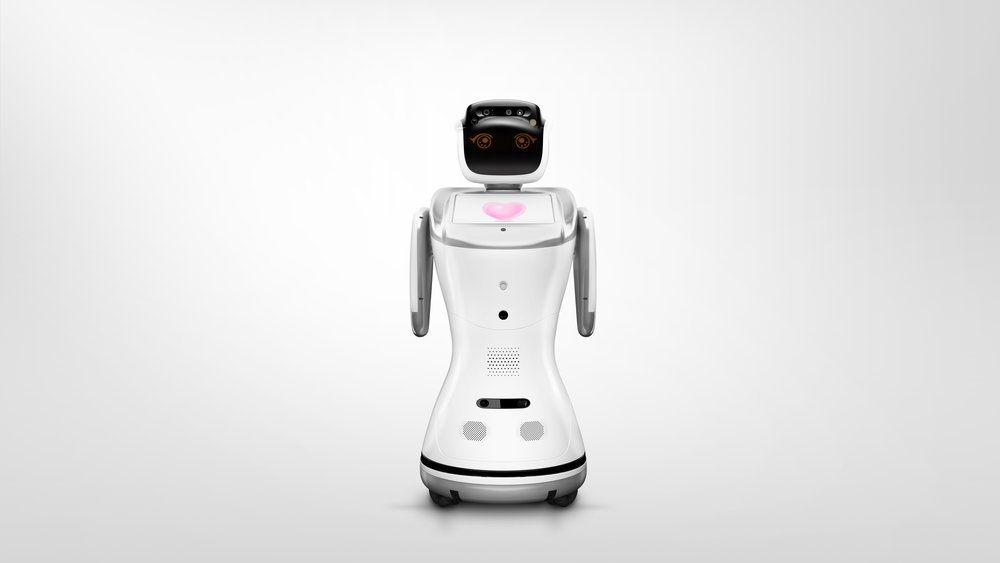 Sanbot humanoid  robot - Probably the cutest robot in the world