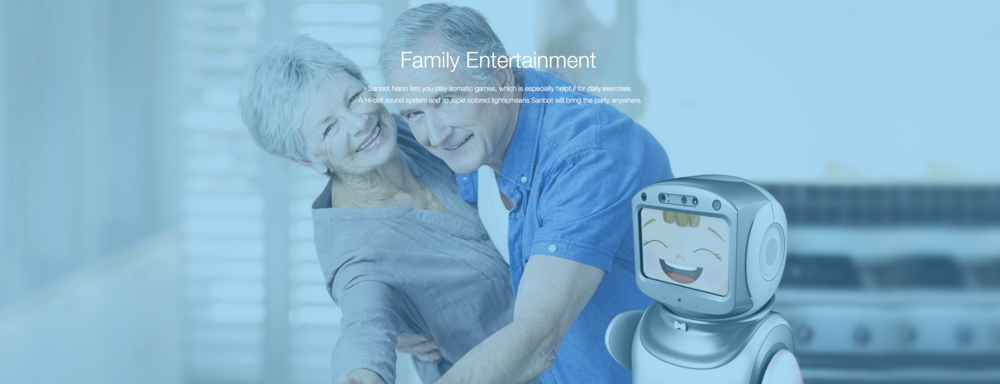 Sanbot Is Entertainment For All The Family