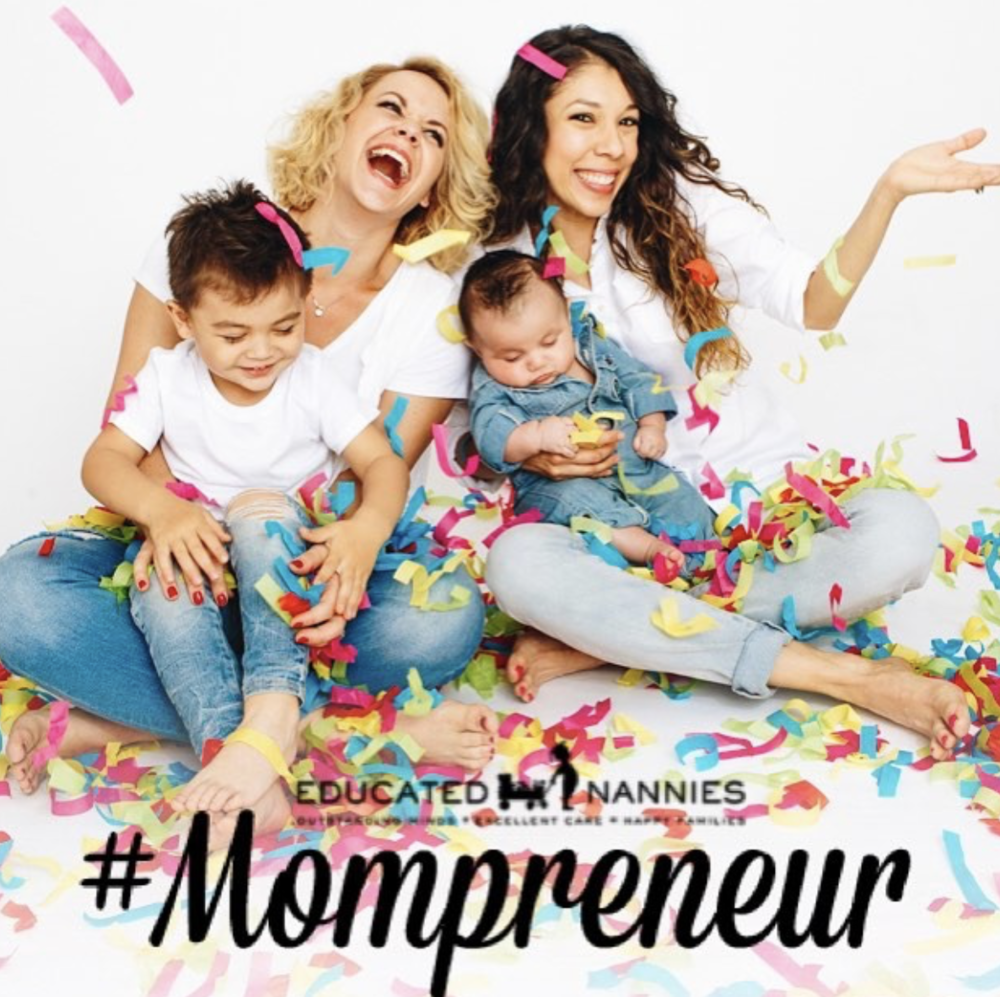 Thank you Educated Nannies - For featuring us as Mompreneurs! We love it and we love you! If you are looking for quality, professional, experienced and EDUCATED child care, look no further! Educated Nannies is serving the greater Los Angeles area and has everything you're looking for. www.educatednannies.com