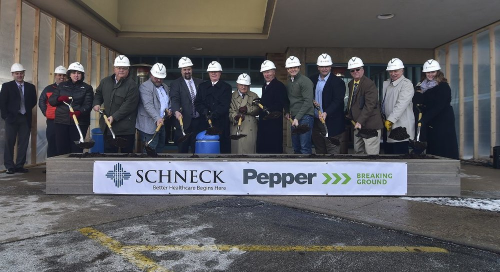Healthcare prgram development.CCIp facilitation.onsite safety support - Schneck Medical Network - Schneck Medical Center Expansion
