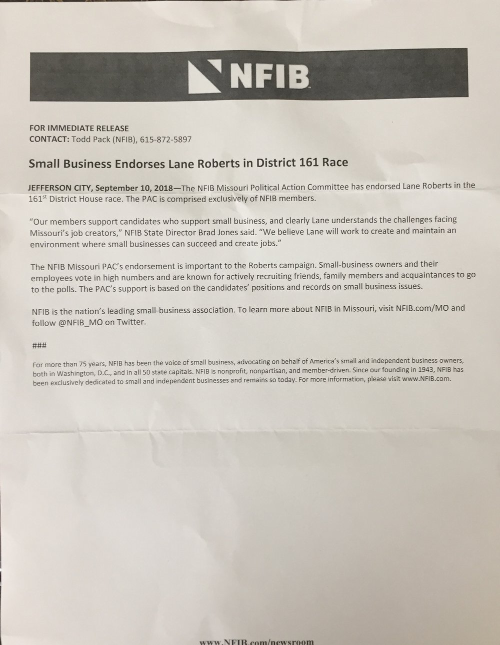 National Federation of Independent Business/Missouri