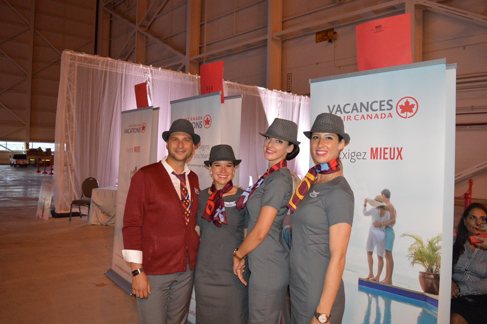 Air Canada Vacations Product Launch