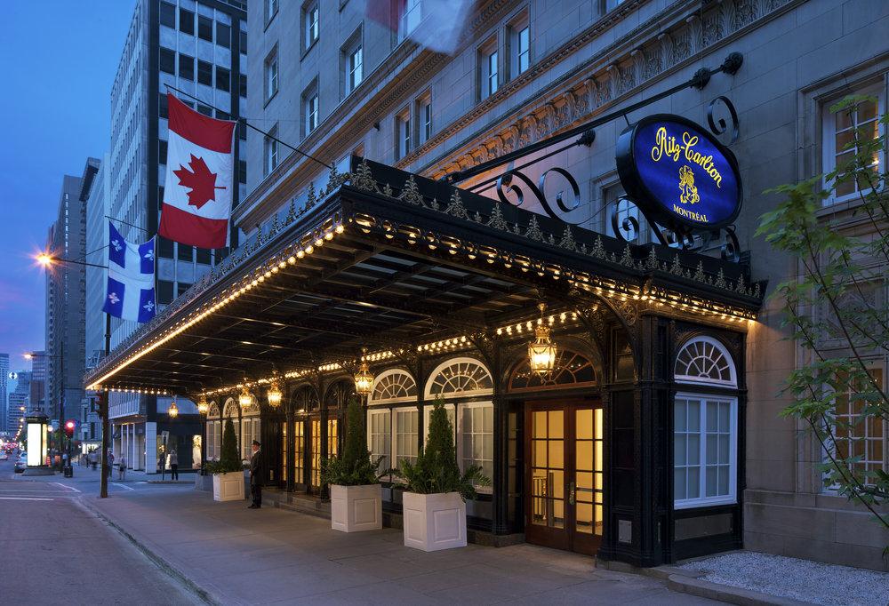 Ritz Carlton Montreal Exterior