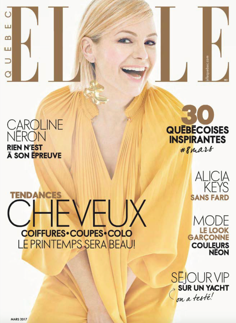 ELLE Quebec features TradeWinds