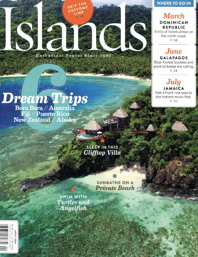 Islands Magazine features The Crane Resort