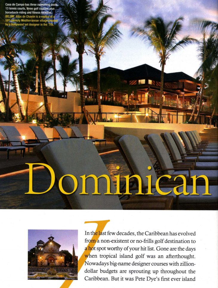 Dominican Dream<br>Doctor's Review Magazine