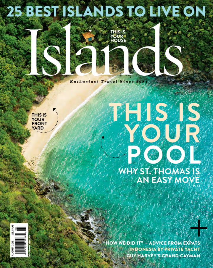 St. Barts<br>Islands Magazine
