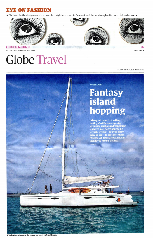 Fantasy Island Hopping<br>The Globe and Mail