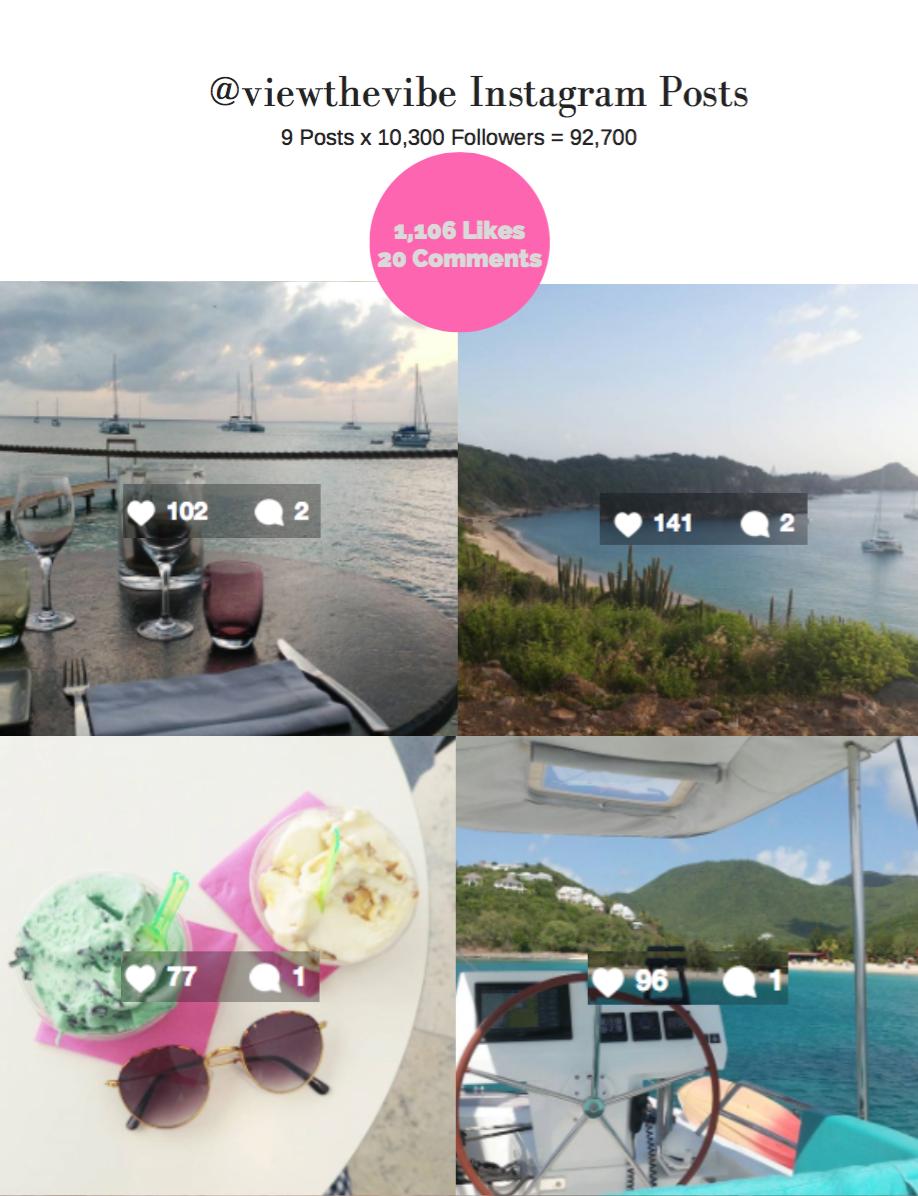 @viewthevibe Instagram: TradeWinds Social Media Trip