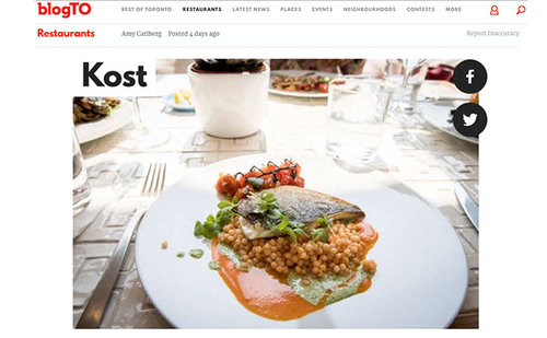 BLOG TO Kost Restaurant