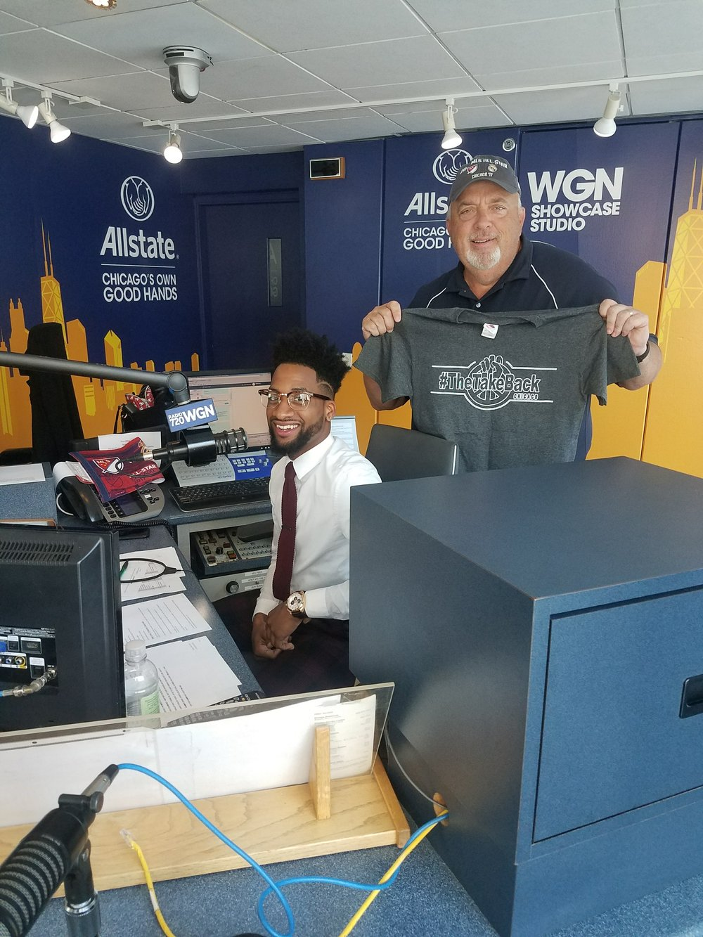 WGN Radio 720 Interview