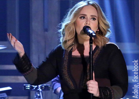 Adele is one of the few artists who has developed an emotive singing style – and it works for her (Source: Adele, Facebook)