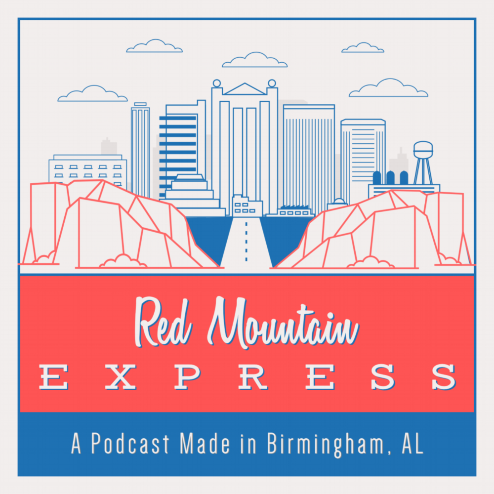 The Red Mountain Express Logo