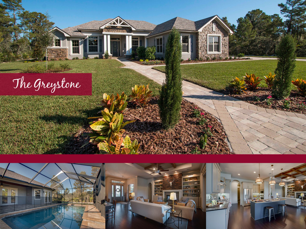 Ernie White Featured Homes The Greystone Ernie White Construction – Greystone Homes Floor Plans