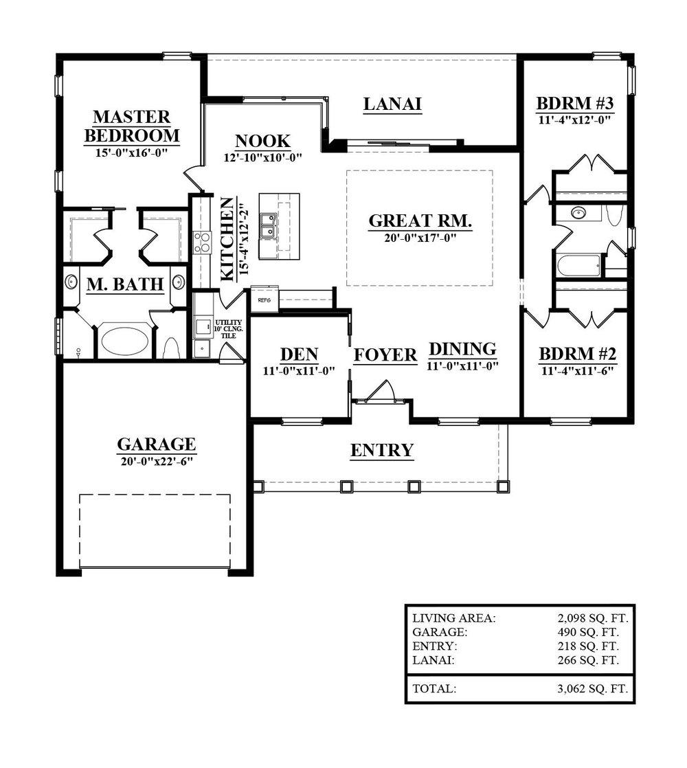 Construction Floor Plans | Floor Plans Ernie White Construction