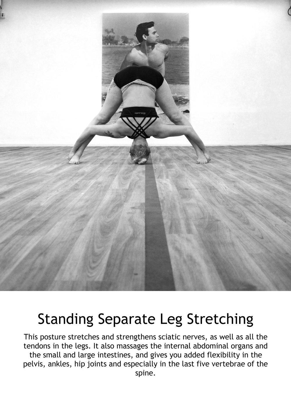 Separate Leg Stretching