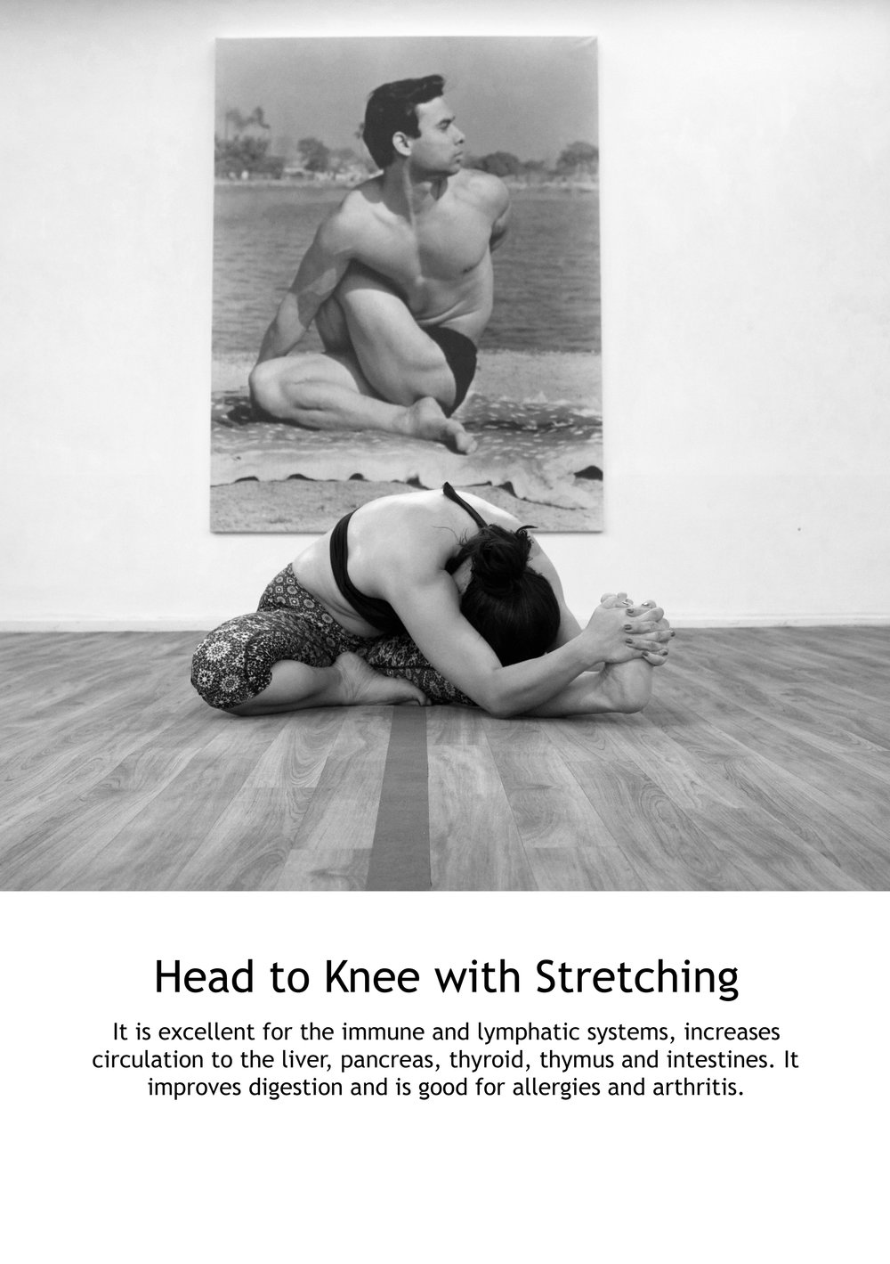 Head to Knee with Stretching Part One