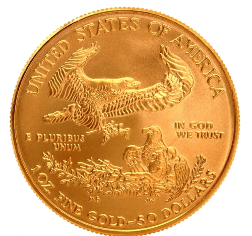 A very small portion of the gold in the world has been minted by the U.S Government.