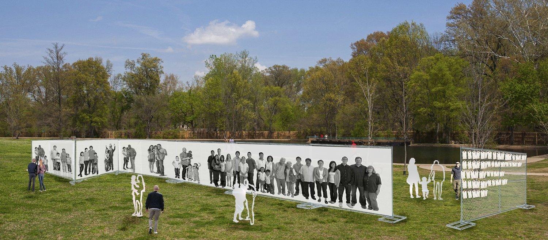 barrier free art a socially engaged art installation