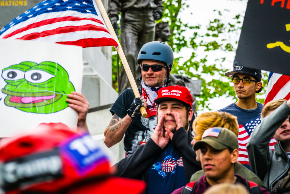 A free-speech rally in Boston this week