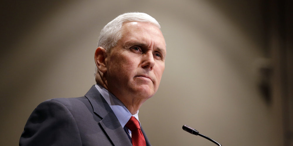 Pence announces the acceptance of Indiana's application for Medicare/Medicaid expansion waiver in January of 2015