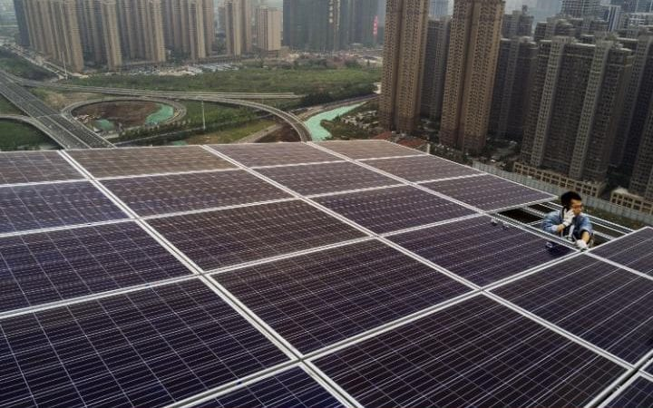 China now produces 2/3 of the World's solar panels