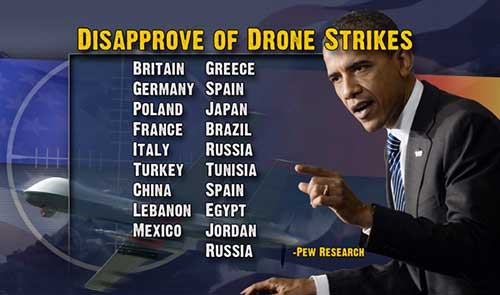 Many NATO allies condemned the unilateral application of drone strikes across the Middle East during the Obama presidency