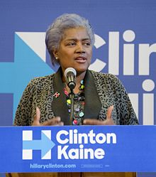 """Donna Brazile, former interim head of the DNC, revealed """"proof"""" that Clinton had rigged the nomination process"""