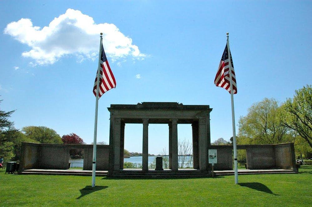 World War 1 Memorial at Agawam Lake
