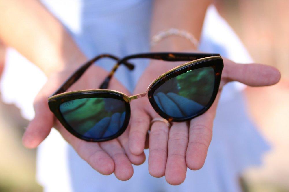 Daily wear...My Tortoise Frame - Blue Mirror Polarized Lens