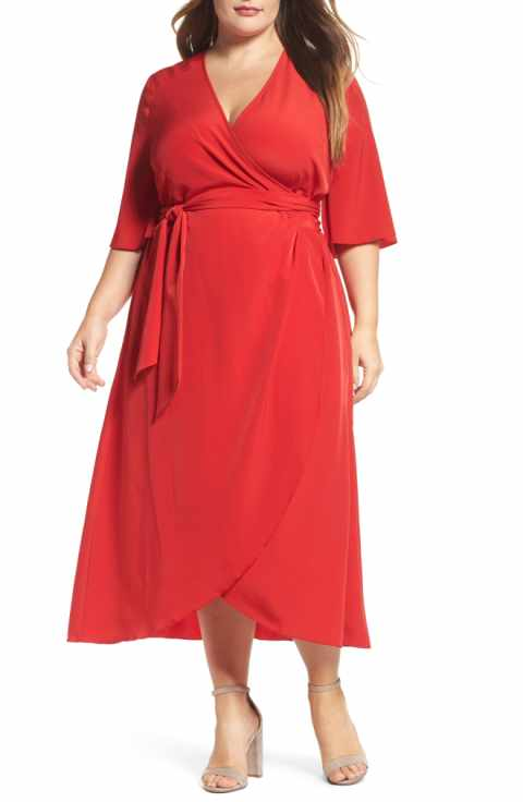Melissa McCarthy Seven7 Wrap dress