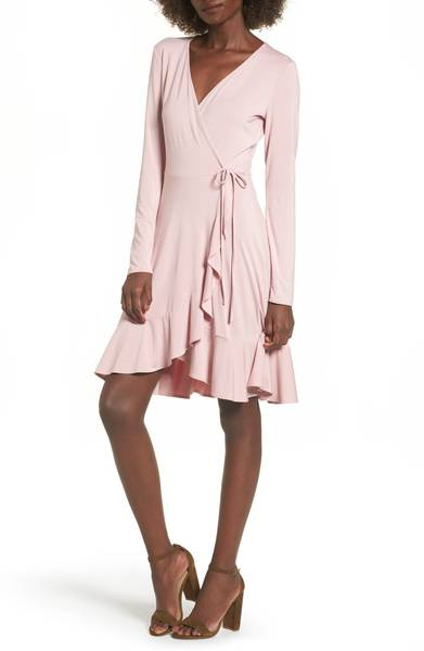 Soprano Ruffle Wrap Dress