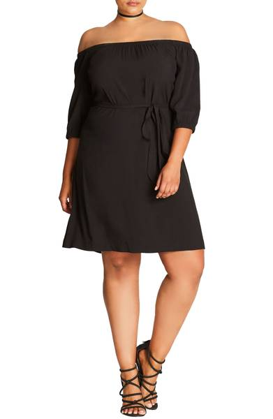 City Chic shift dress from Nordstrom