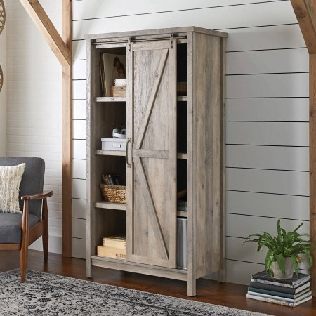 Click here to purchase this distressed storage cabinet.