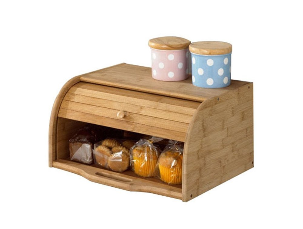 Classic Wooden Breadbox
