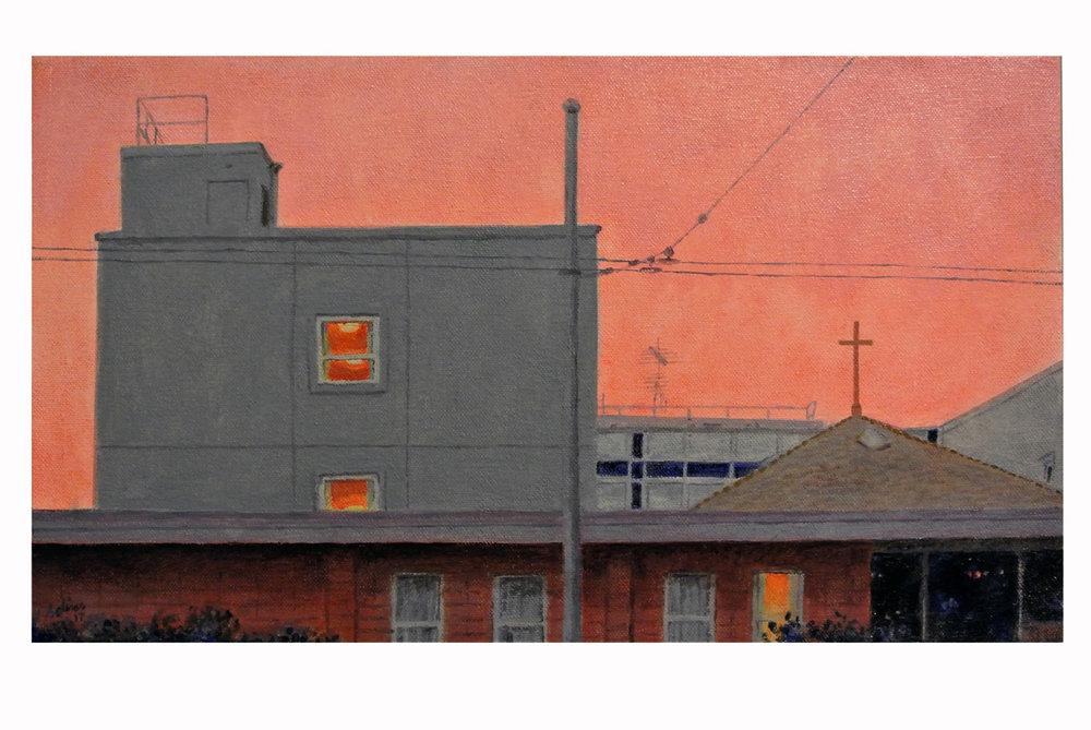 PBVM Motherhouse at Dusk