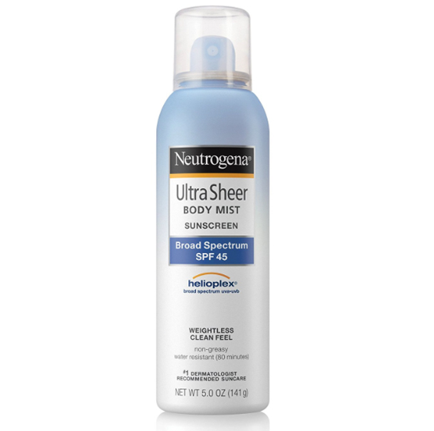 NEUTROGENA ULTRA SHEER BODY MIST
