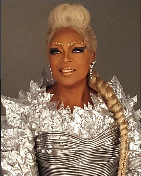 oprah a wrinkle in time makeup Courtesy of Instagram/@derrick4mkup