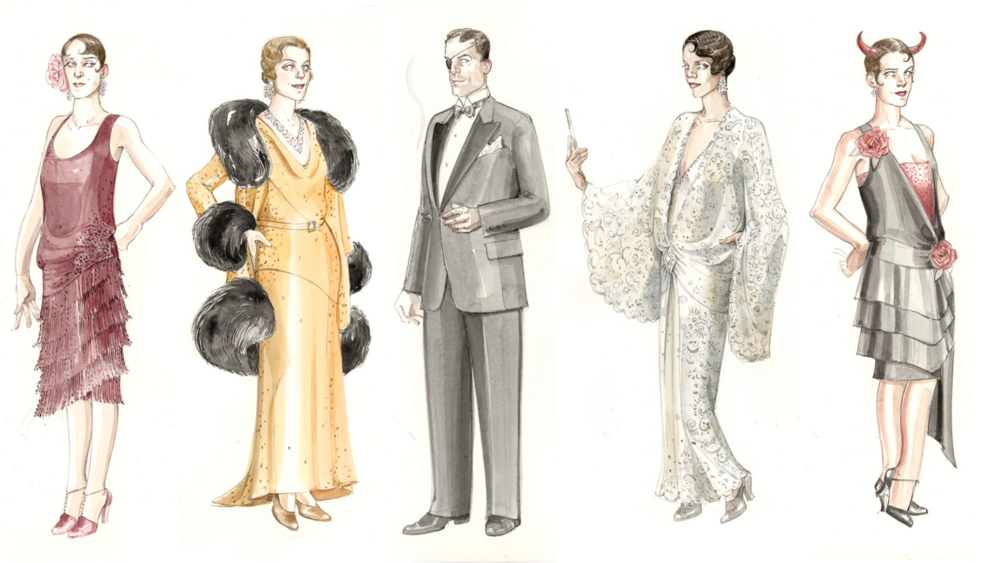 La Traviata costumes