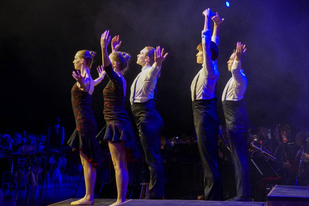 Ballet Edmonton performs to the famous 'Flower Duet'