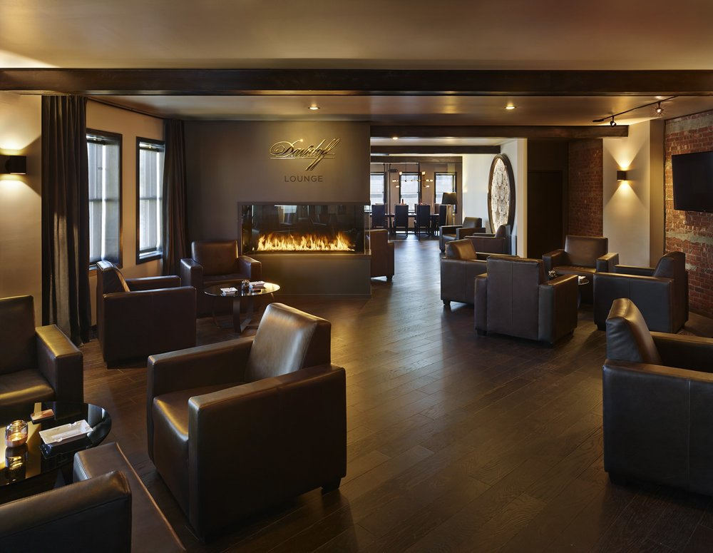 Cigar Lounge - Davidoff Lounge at The Tobacco Shop of Ridgewood