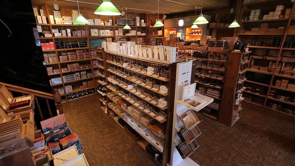 A Walk-in Humidor in Bergen County