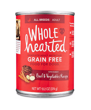 WholeHearted Food & Treats for Dogs — Wholehearted