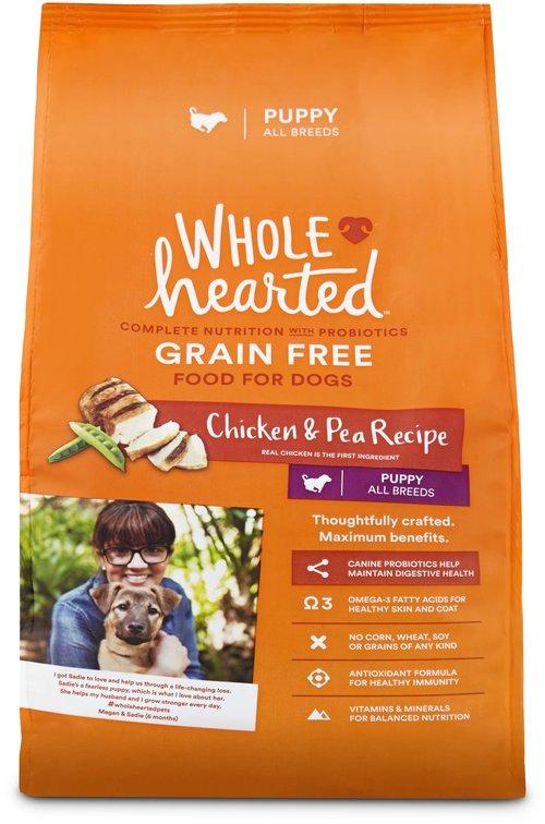 Wholehearted grain free chicken pea recipe puppy dog food wholehearted grain free chicken pea recipe puppy dog food forumfinder Gallery