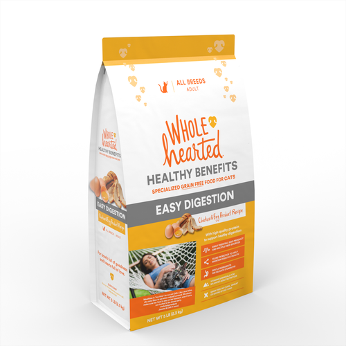 Wholehearted healthy benefits easy digestion food for cats chicken wholehearted healthy benefits easy digestion food for cats chicken egg product recipe forumfinder Choice Image