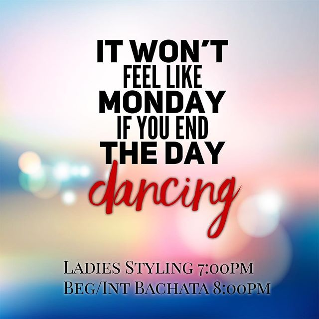 Dance with us every Monday!!! Full schedule online at www.mambofactoryfl.com