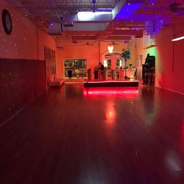Larger space, brand new a/c, incredible lighting, new dance floor!!! Ready for our next social! See you soon on the dance floor!