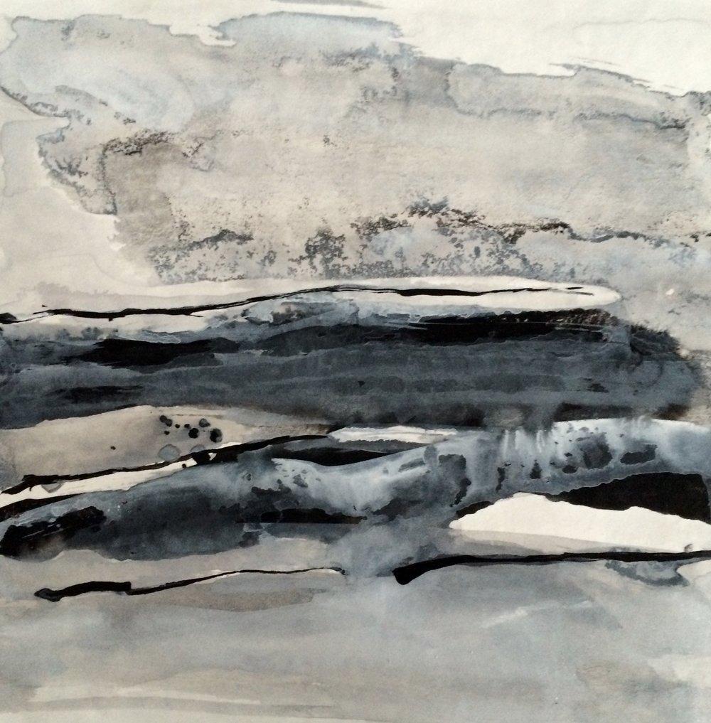 Stormy Grey Sea II