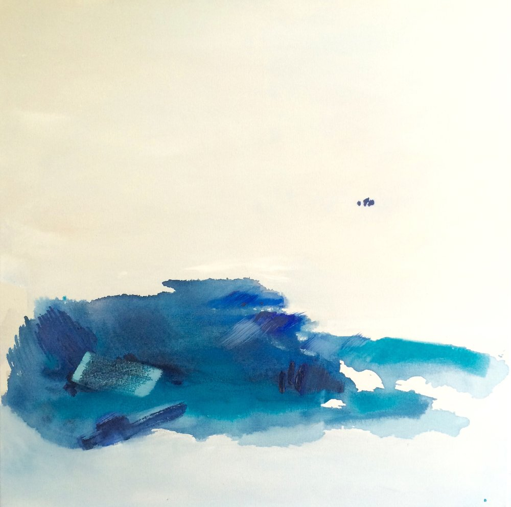 Blue Island (SOLD) 80x80