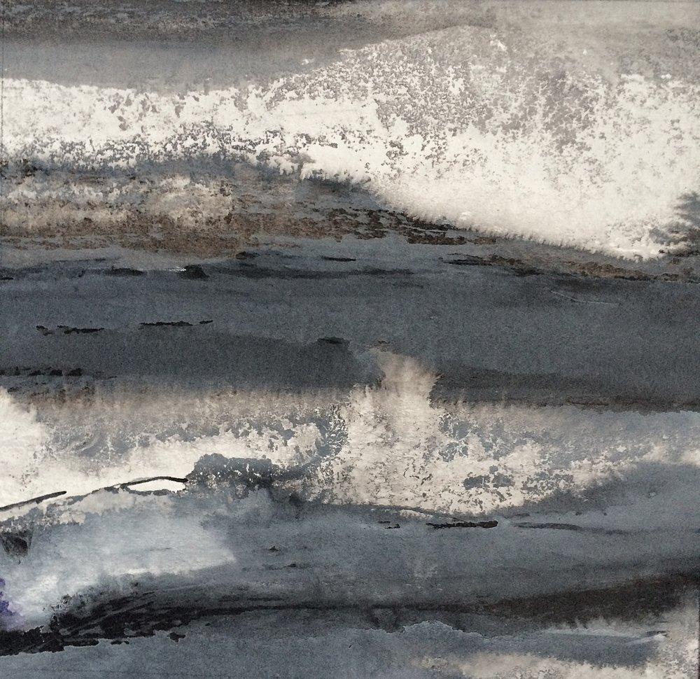 Stormy Grey Sea I